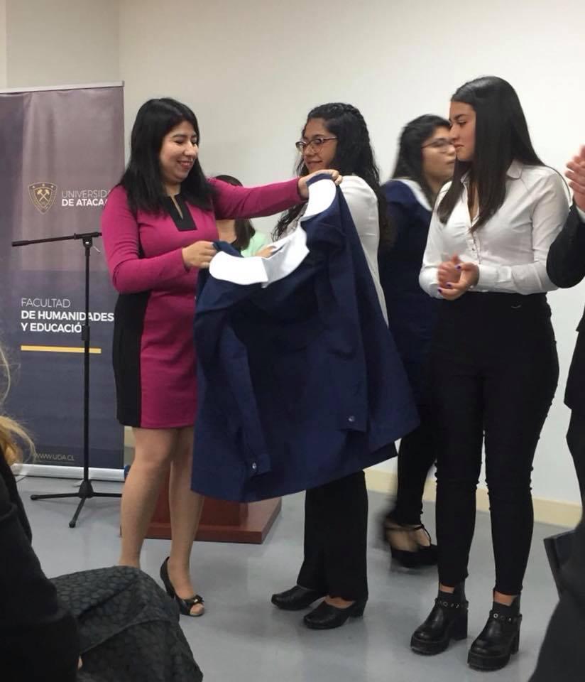 Alumnos becados de Minera Candelaria recibieron su investidura como futuros profesores