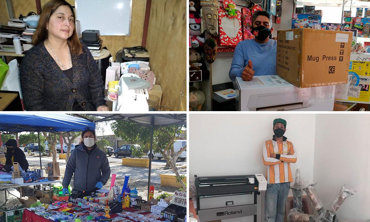 45 microempresarios de la provincia de Copiapó beneficiados con la línea Emprendimiento del Programa de Colaboración Comunitaria