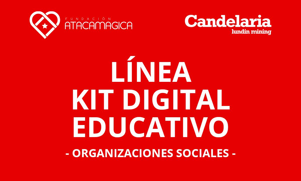 """Línea de apoyo """"Kit Digital Educativo"""" benefició a organizaciones sociales de Tierra Amarilla, Caldera y Copiapó"""